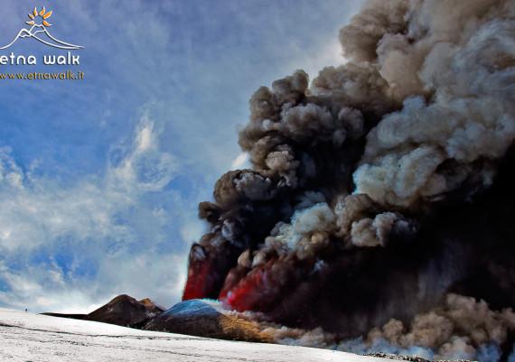 Man & Volcano