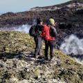 Tra fumarole e fratture, uno sguardo nel Cratere Centrale